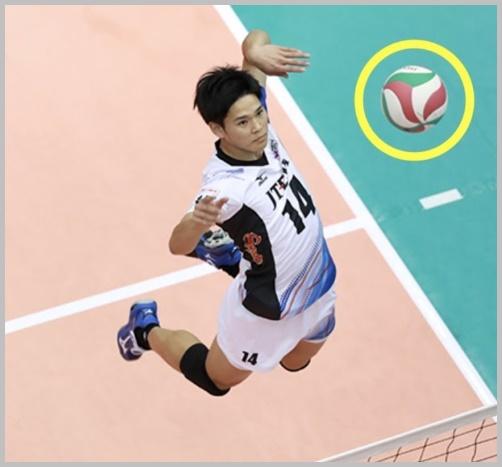 西田有志は海星高校出身!ジャンプ力や最高到達点、筋肉画像が