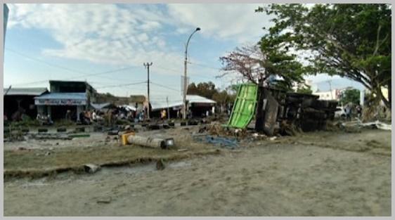 インドネシアスラウェシ島地震