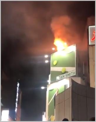 渋谷ハロウィン火事