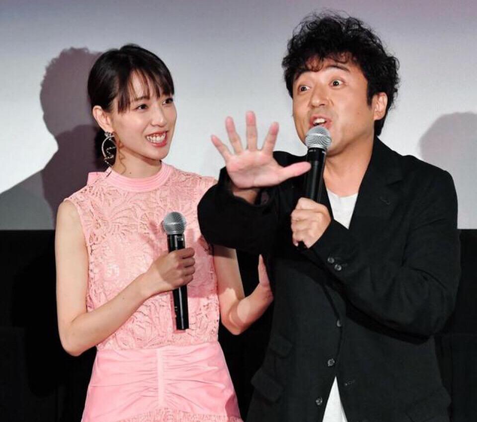 戸田恵梨香&ムロツヨシ