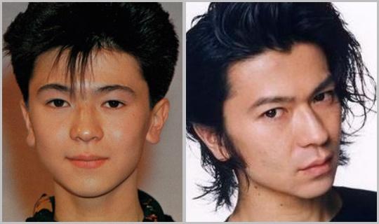 武田真治、若い頃と比較