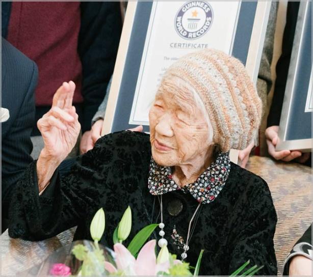 田中カ子(ギネス世界記録)