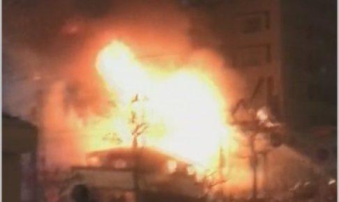 札幌爆発火事