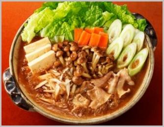 赤味噌ちゃんこ鍋