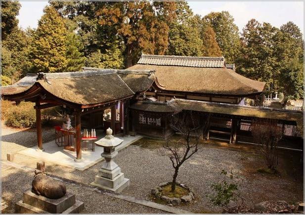 大野神社の場所(嵐)