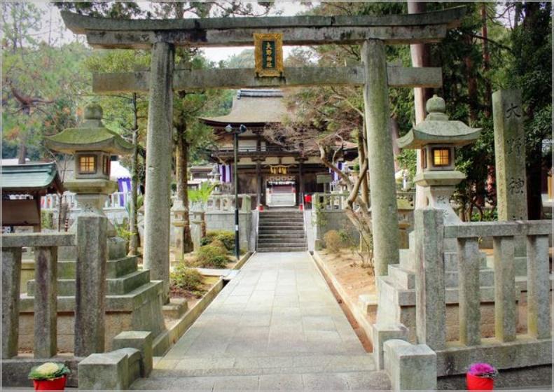 大野神社の場所