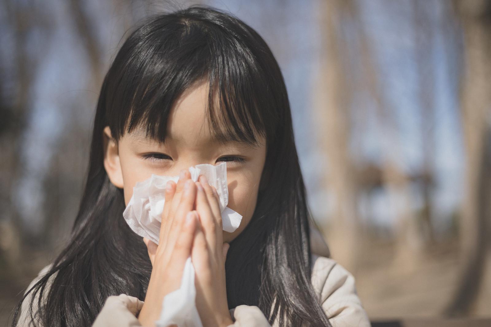 目や鼻周りの効果的な塗り方(花粉症対策)