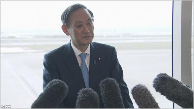 菅官房長官が新元号考案者へ委嘱