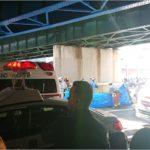 三宮路線バス事故の現地の状況