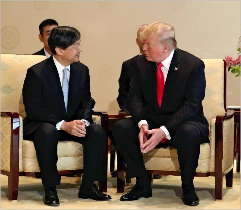 トランプ大統領&雅子さま