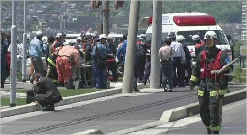 大津事故の現場の状況