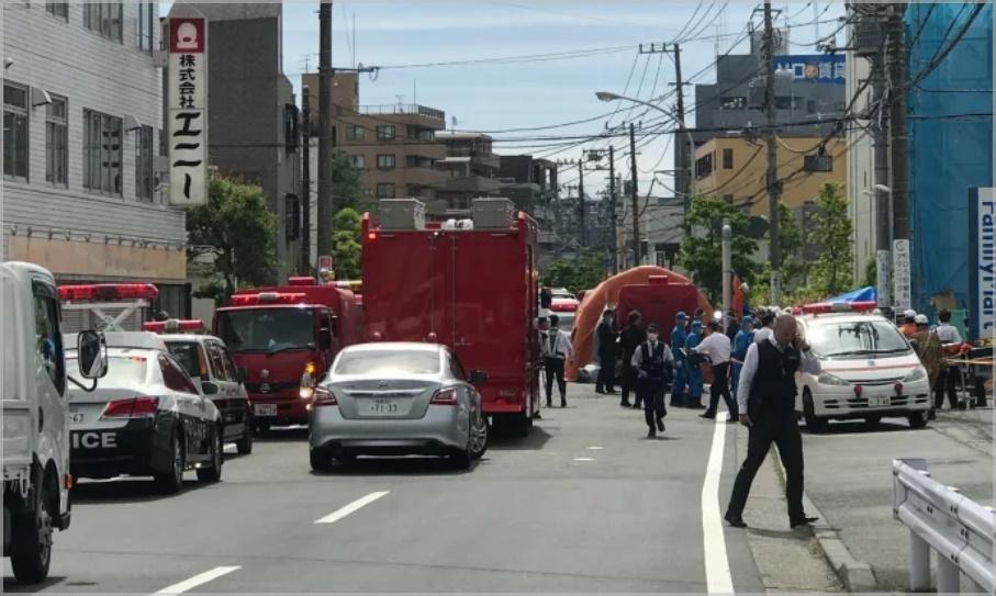 川崎通り魔事件の現場の状況