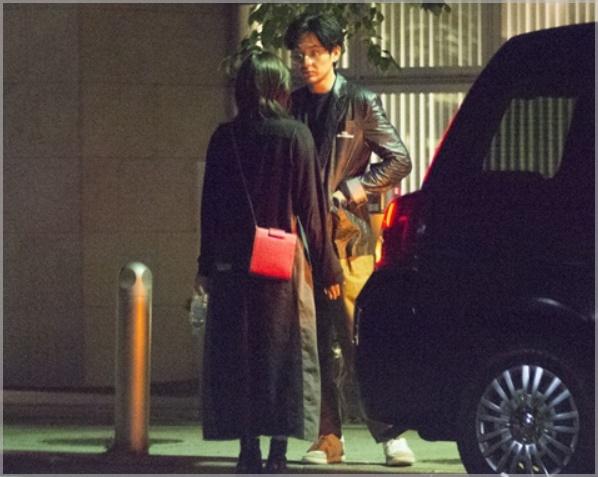 松田龍平と現愛の彼女・モーガン