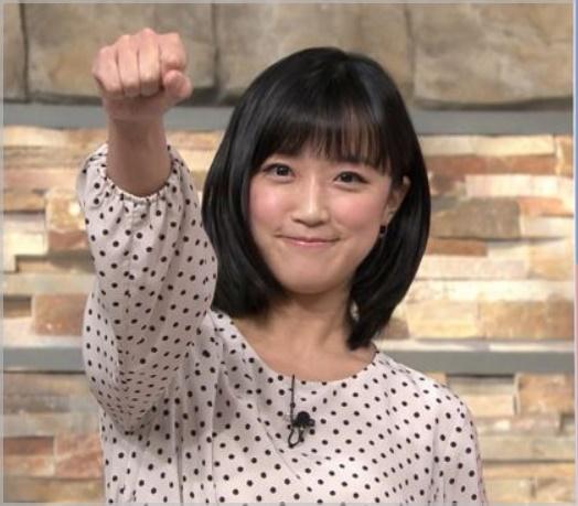 竹内由恵アナの髪がツヤツヤでかわいい