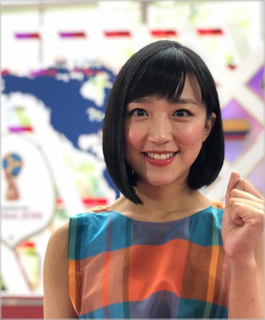 竹内由恵アナの髪がツヤツヤ