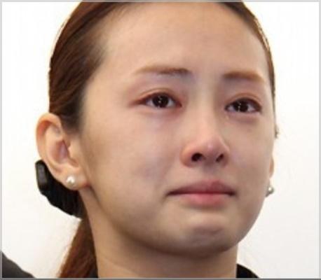 北川景子の葬式でのすっぴん画像