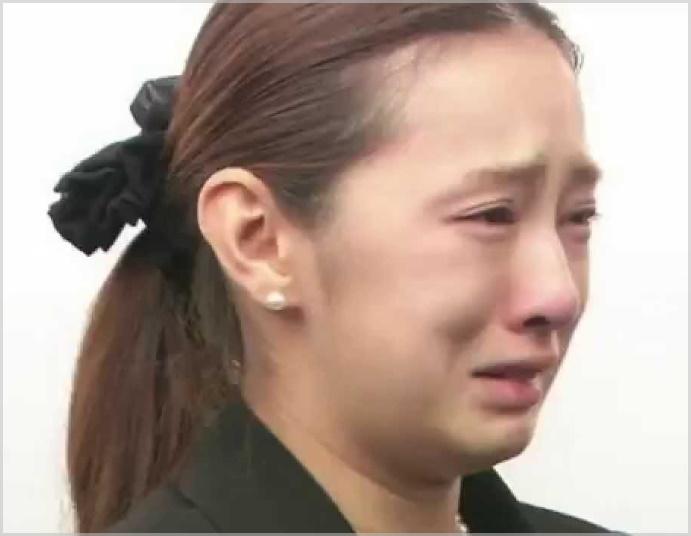 北川景子の葬式でのすっぴん画像2