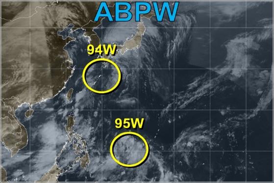 台風3号のG20大阪への影響(米軍予想)