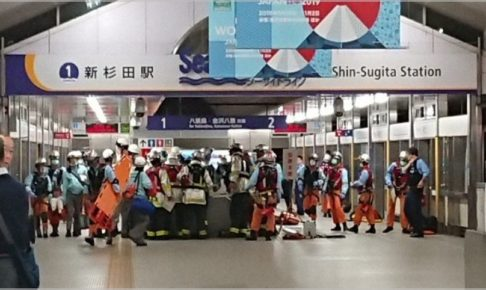 横浜シーサイドライン衝突事故の現場の状況(画像)