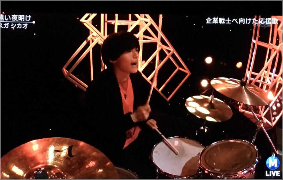 桜井和寿の息子・海音(かいと)のMステ出演画像2