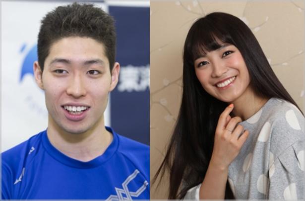 萩野公介の妻はmiwa