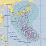 台風19号(2019)大阪へいつくる