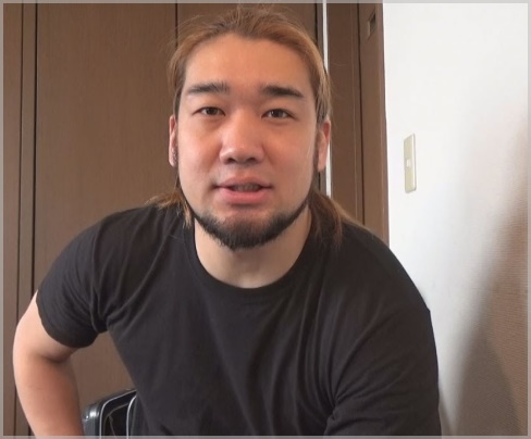 坂口杏里の結婚相手(旦那)シバターの顔画像