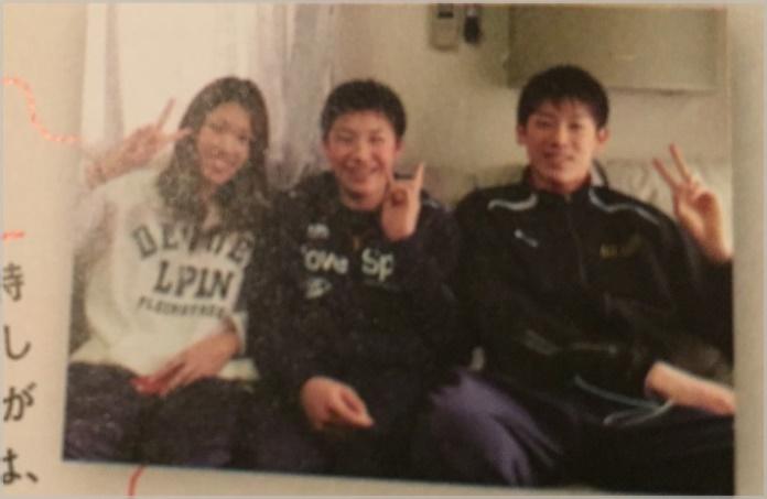石川祐希の兄弟は姉と妹(写真)