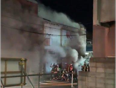 郡山駅前火災(火事)の場所